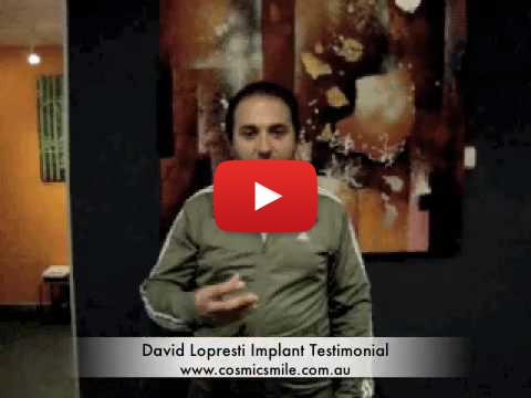 Dental implant testimonial